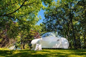 Équipements de réception de this luxury tent