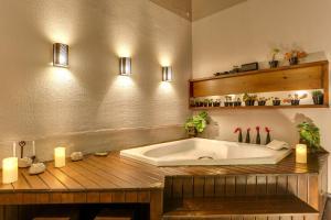 Ein Badezimmer in der Unterkunft Pousada dos Chás Hotel Boutique