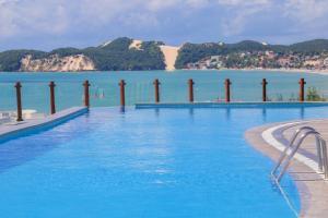 The swimming pool at or close to Pontalmar Praia Hotel