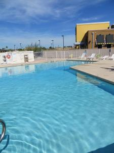 The swimming pool at or close to Premier Inns Metro