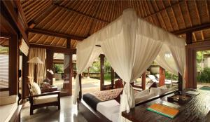 A seating area at The Ubud Village Resort & Spa