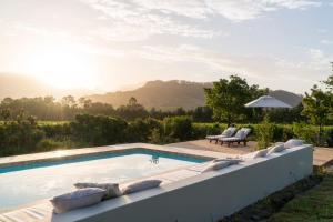 The swimming pool at or near Cape Vue Country House