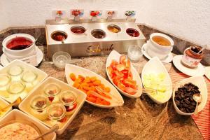 Завтрак для гостей Hotel Sonnenberg