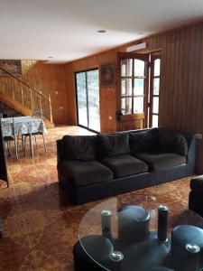 A seating area at La casa del Kori