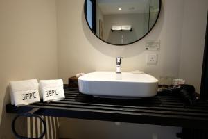 A bathroom at 38PC Boutique Hotel