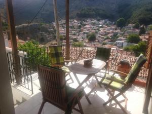 A balcony or terrace at Samothraki