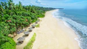 A bird's-eye view of Good Karma Ayurvedic Resort