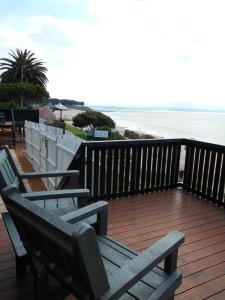 A balcony or terrace at Santos Express