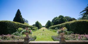 A garden outside Goldsborough Hall