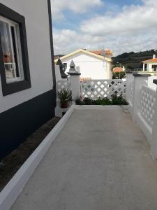A balcony or terrace at Casa das Andorinhas