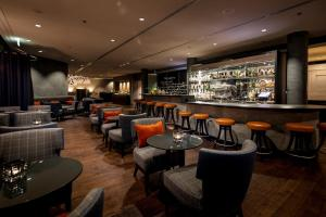 The lounge or bar area at Rocco Forte The Charles Hotel