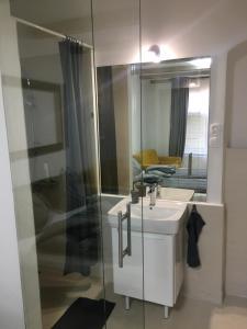 Kúpeľňa v ubytovaní Historical apartments V18