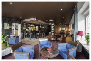 De lounge of bar bij Hotel Ter Streep