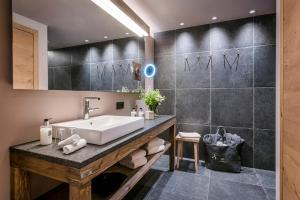 A bathroom at Werdenfelserei