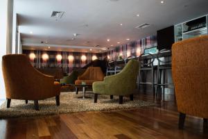 Lobby/Rezeption in der Unterkunft NM Lima Hotel