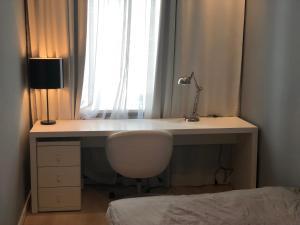 A bathroom at SARGE aparment