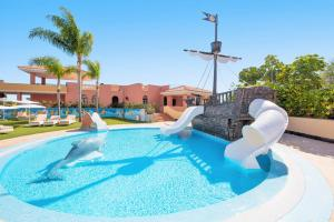 The swimming pool at or near Iberostar Selection Anthelia