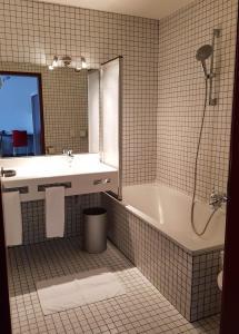 Ванная комната в Hotel Bischof