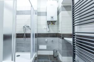 Koupelna v ubytování Apartments Susilova