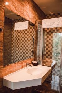 A bathroom at Vila Radailiai - Dinosaur Park