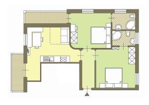 Grundriss der Unterkunft Spisserhof