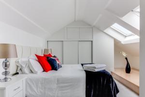 Cama o camas de una habitación en Rueiro 17