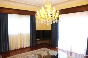 A television and/or entertainment center at Graciosa Guest House