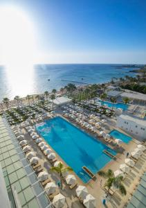A view of the pool at Constantinos the Great Beach Hotel or nearby