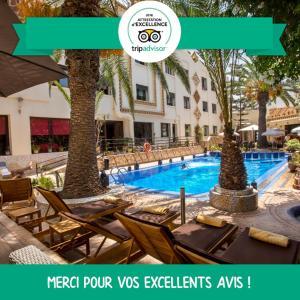 Бассейн в Atlantic Hotel Agadir или поблизости