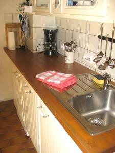 Küche/Küchenzeile in der Unterkunft Kallmuth Cottage