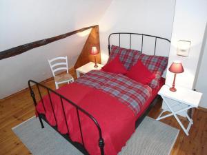 Ein Bett oder Betten in einem Zimmer der Unterkunft Kallmuth Cottage