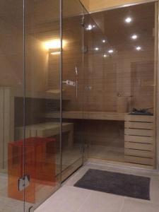 A bathroom at Agriturismo Paradiso 44