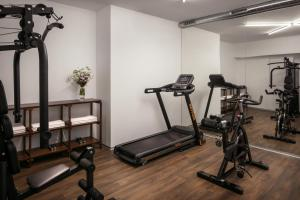 The fitness center and/or fitness facilities at MOODs Charles Bridge