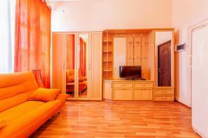 Телевизор и/или развлекательный центр в Aparthotel Maya