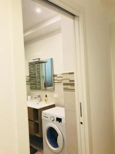 A bathroom at casa serena