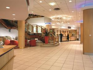 The lobby or reception area at Bolton Whites Hotel