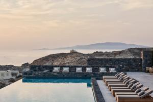 The swimming pool at or close to Canaves Oia Epitome - Small Luxury Hotels of the World