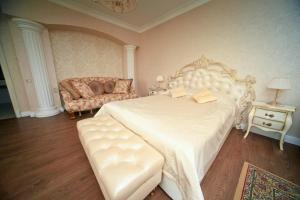 Кровать или кровати в номере Гостиница Амур