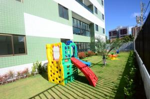 Children's play area at Flat Green Ville Prime