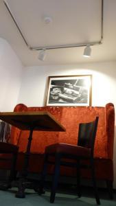 Ein Restaurant oder anderes Speiselokal in der Unterkunft Hotel Restaurant Erbprinz Walldorf