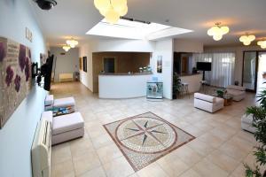 The lobby or reception area at Hotel Ristorante Il Vascello