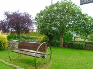 Jardín al aire libre en Apartamento Rural El Gobernador