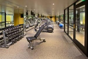 The fitness center and/or fitness facilities at Warwick Seattle