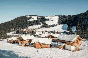 Pradel Dolomites during the winter