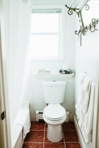 A bathroom at The English Bay Inn