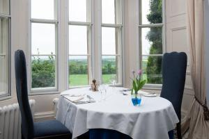 A restaurant or other place to eat at Chirnside Hall Hotel