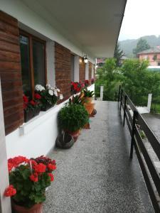 Балкон или тераса в Къща за Гости Балкански Кът