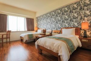 元泰大飯店房間的床