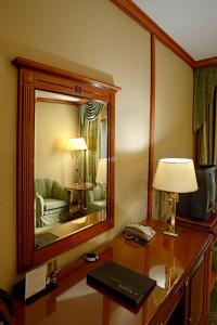 חדר רחצה ב-Intercontinental Hotel Bucharest, an IHG Hotel