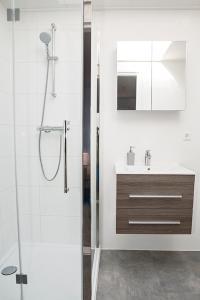A bathroom at Liv Inn